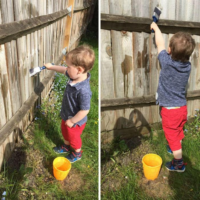 Интересное занятие для ребенка.