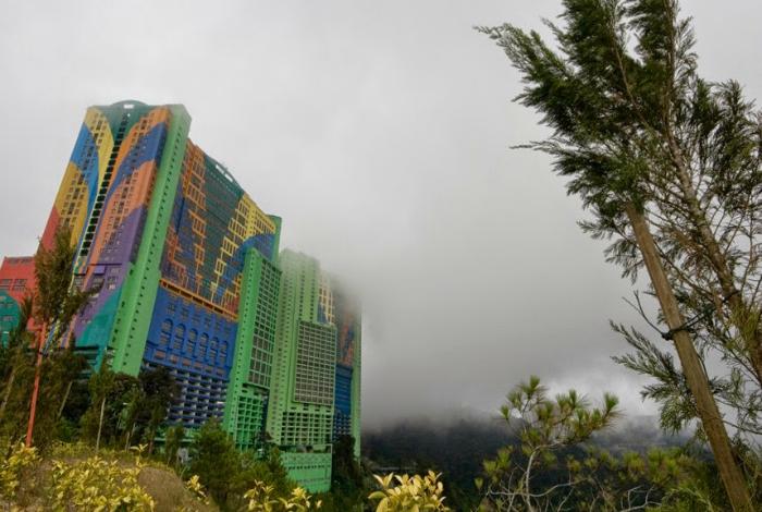 Отель в Малайзии.