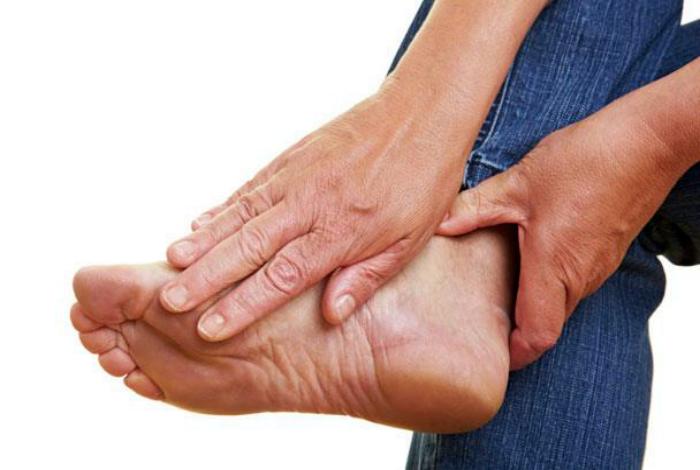 Борьба с неприятным запахом ног.
