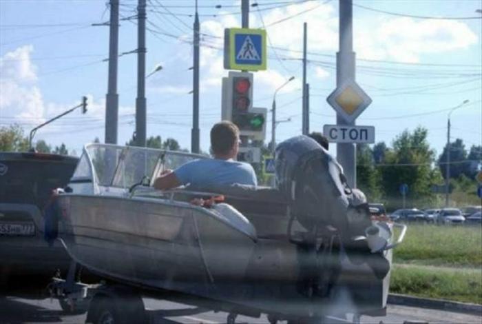 У тебя есть лодка – плыви! | Фото: WTF!
