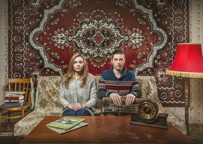 Ковры на полу. | Фото: Максим Мирович - LiveJournal.