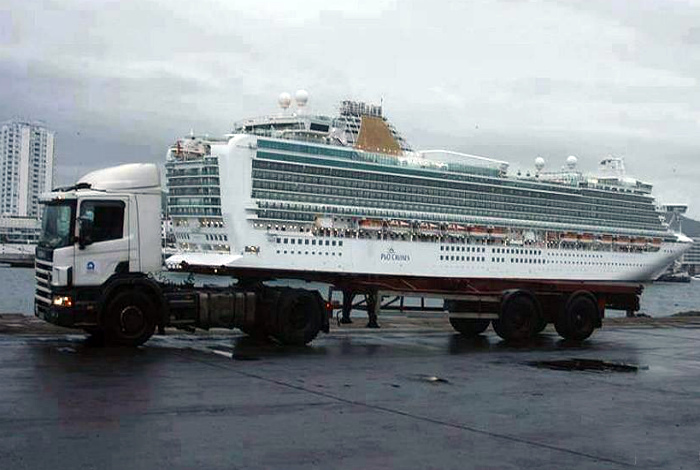 Кораблик в кузове. | Фото: STENA.ee.