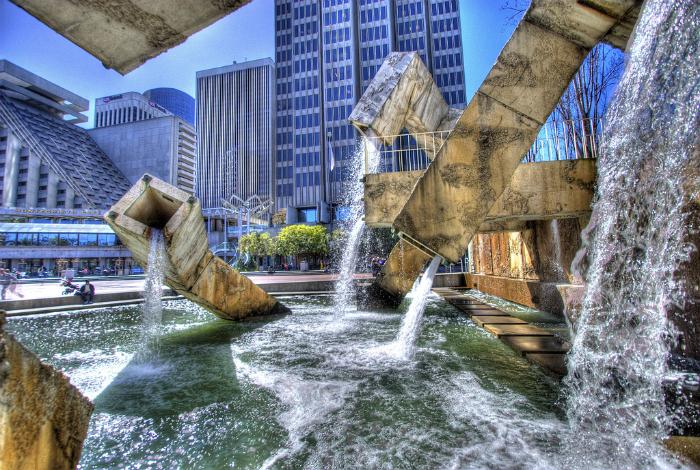 Фонтан Вальянкур, Сан-Франциско, США.