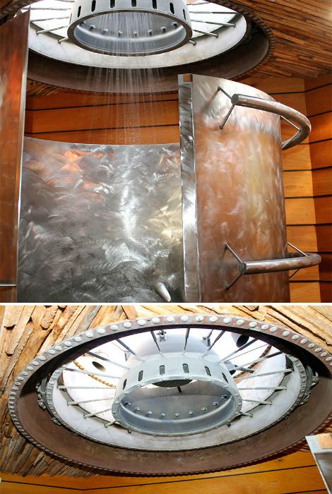 Креативный душ ручной работы.