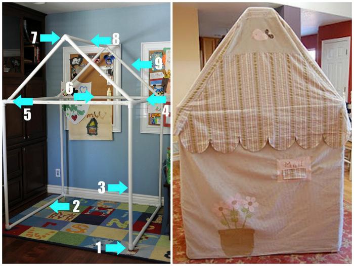 Детский домик.