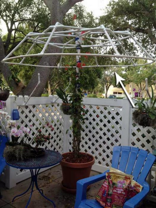 Опора для плетистых растений.