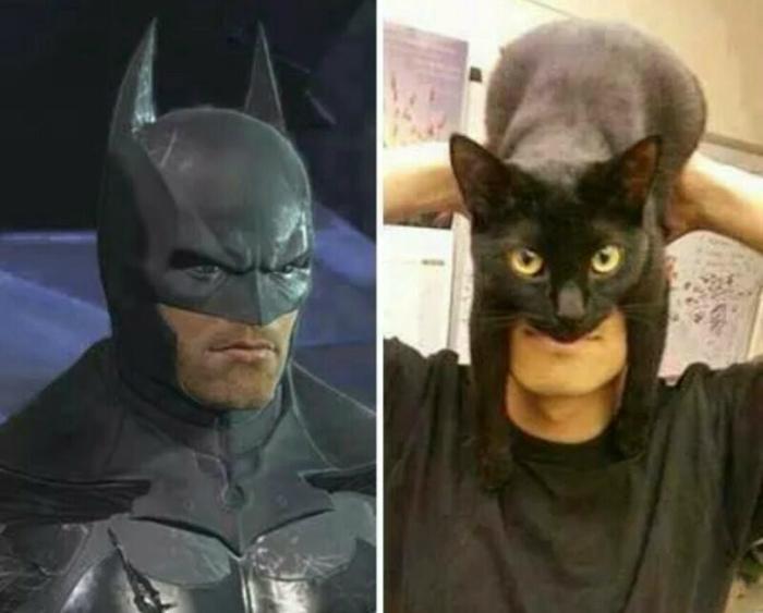 Кэтмен.