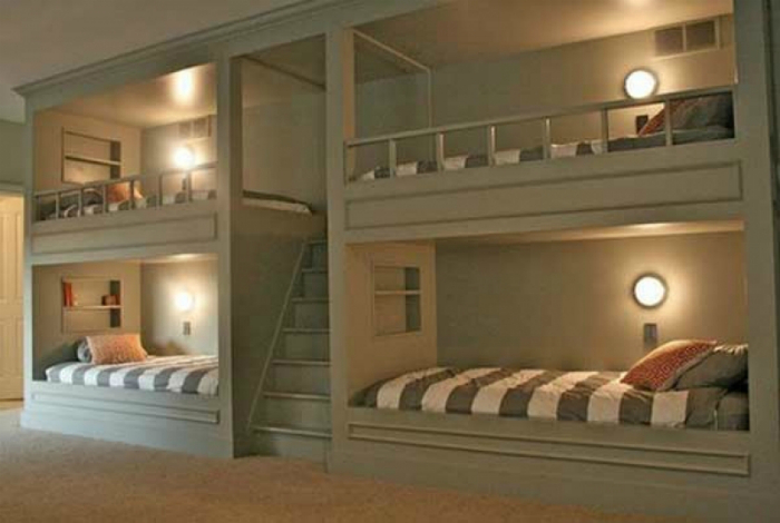 Спальня для четверых.