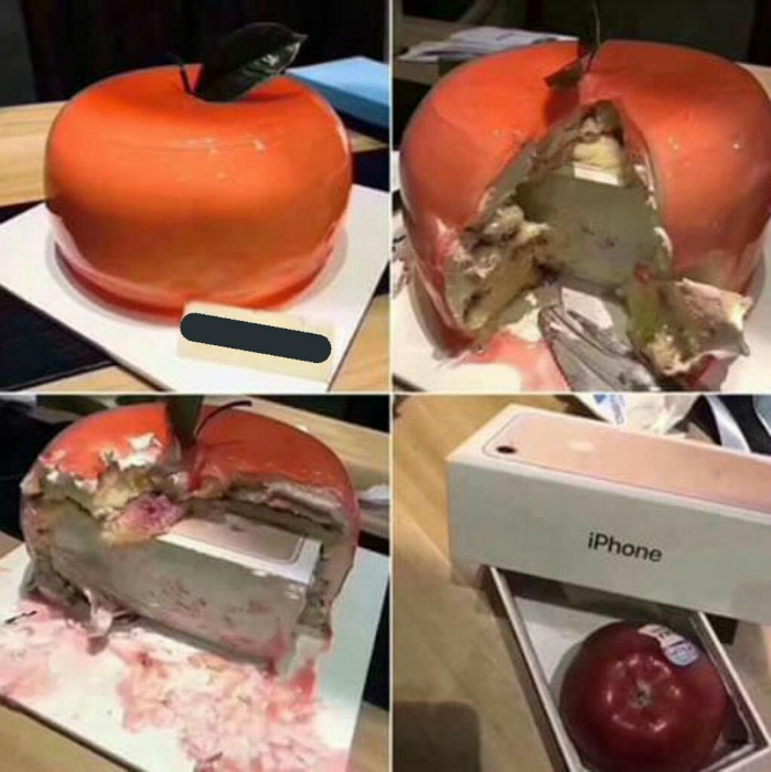 «Я рассчитывал на другое яблоко...» | Самое интересное в мире.