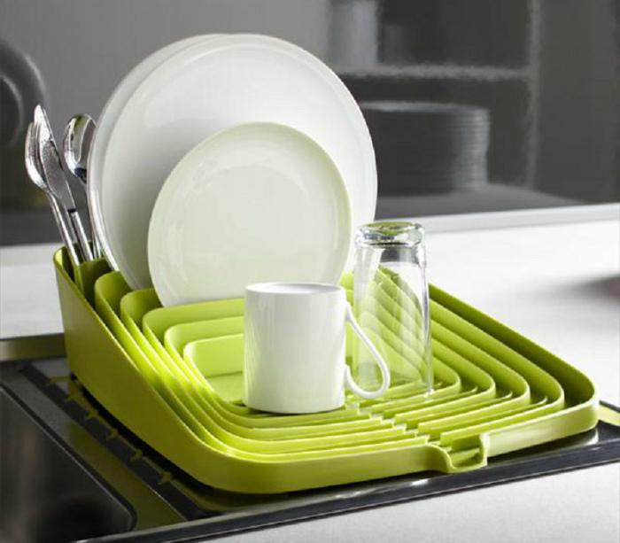 Сушилка для посуды. | Фото: Incrivel.club.