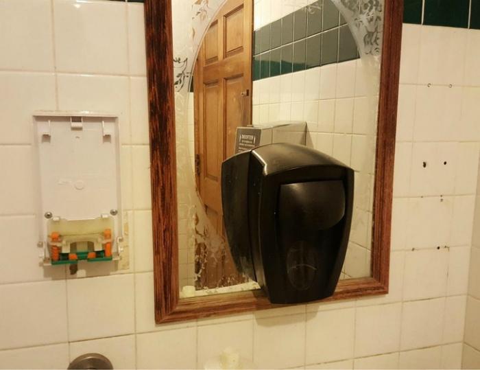 Место для сушилки. | Фото: uCrazy.ru.