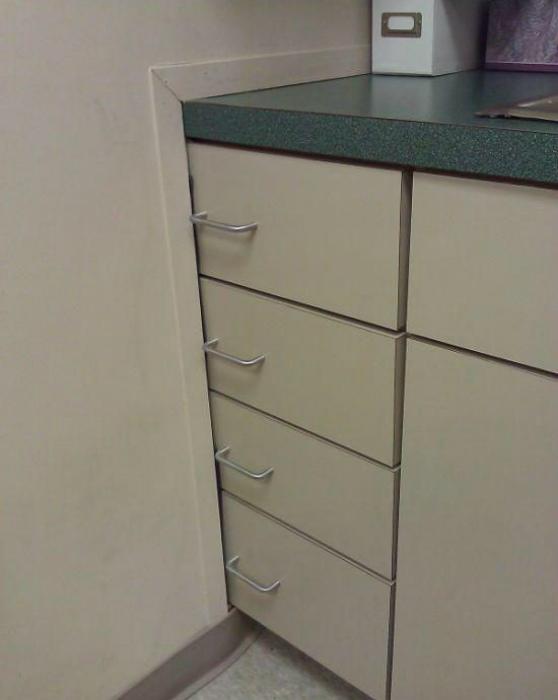 «Функциональные» шкафчики.