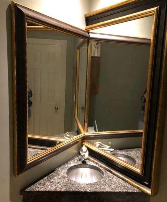 Что-то зеркала не сработали... | Фото: Телеграф.
