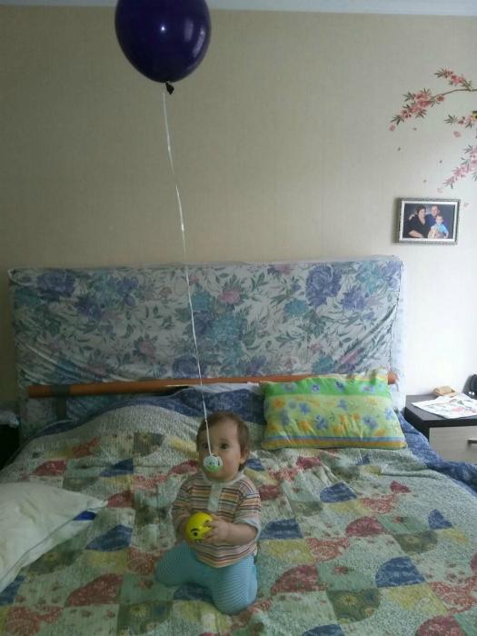 Соска на шарике.