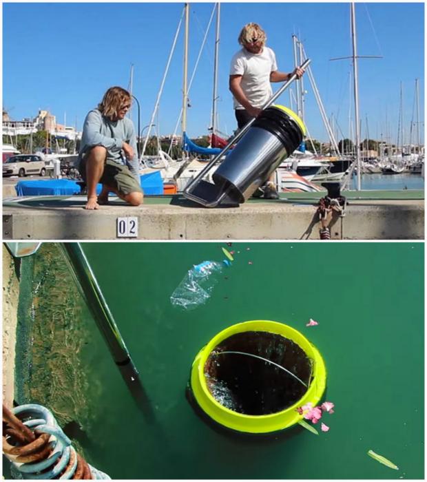 Seabin - мусорное ведро для океана.