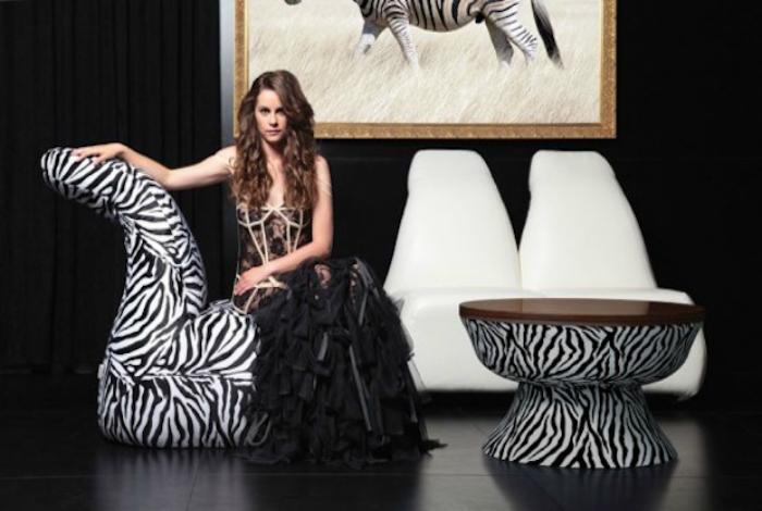 Коллекция мебели «Зебра».
