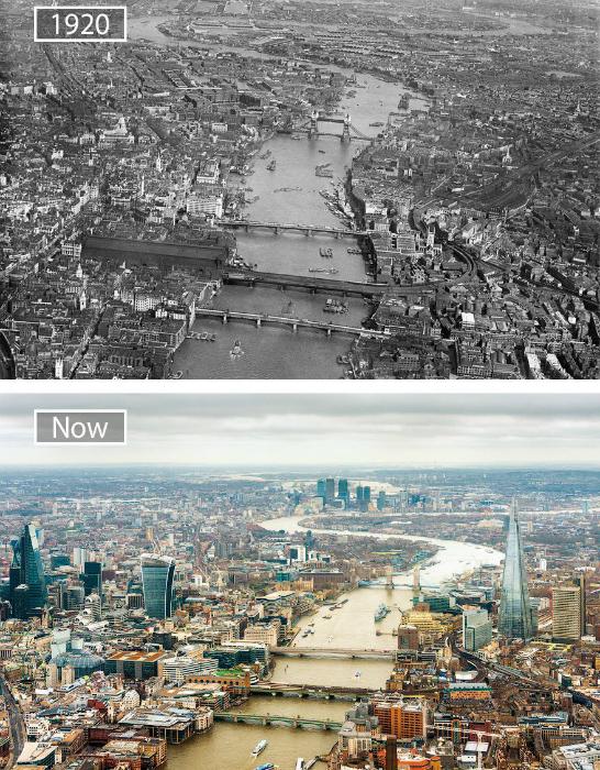 Девяносто шесть лет развития Лондона.