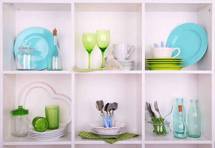Красивая посуда. | Фото: homebuilding.ru.