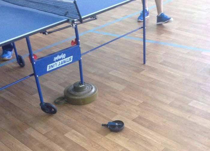 Экстремальный теннис.
