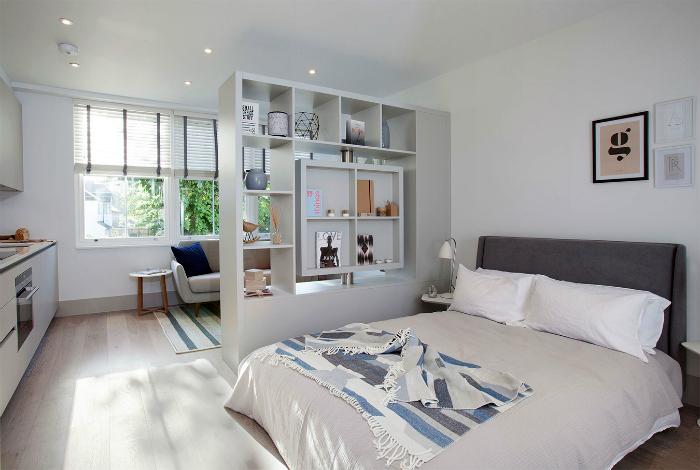 Чудесный дизайн квартиры-студии.