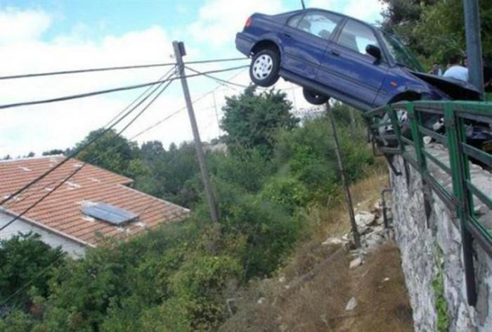 Машина, попавшая в сети прогресса.