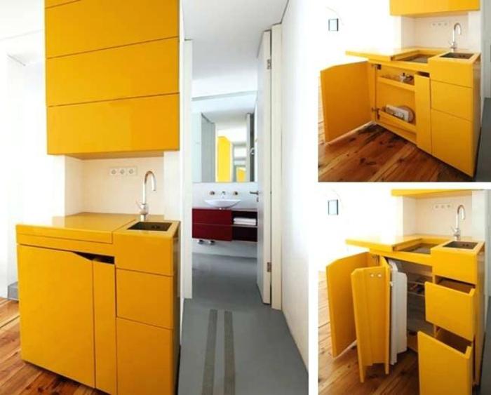 Функциональные кухонные шкафчики. | Фото: softkenya.info.
