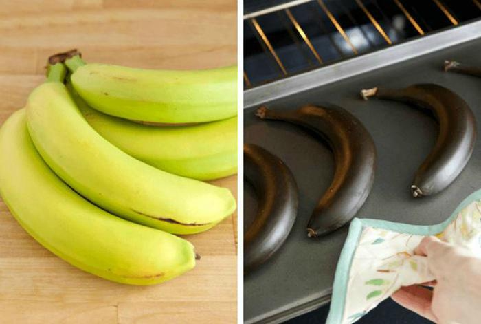 Зеленые бананы. | Фото: Dama.bg.