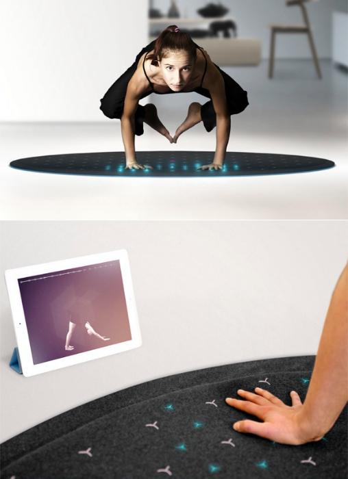 Коврик для йоги Tera fitness mat.