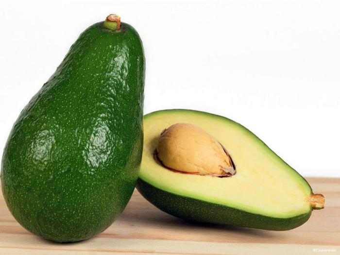 Ягода под названием авокадо.