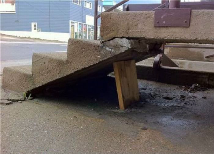 Благо ступеньки невысокие! | Фото: Funnyjunk.