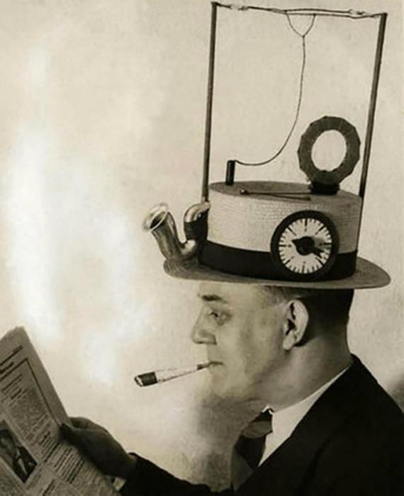 Шляпа-радио.