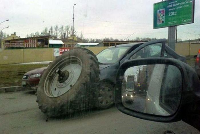 Гигантское колесо в подарок.