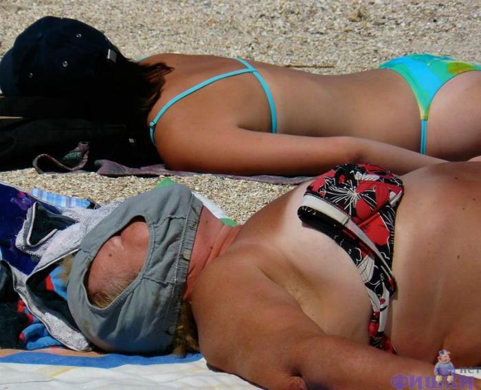 просвещение трусики на пляже фото