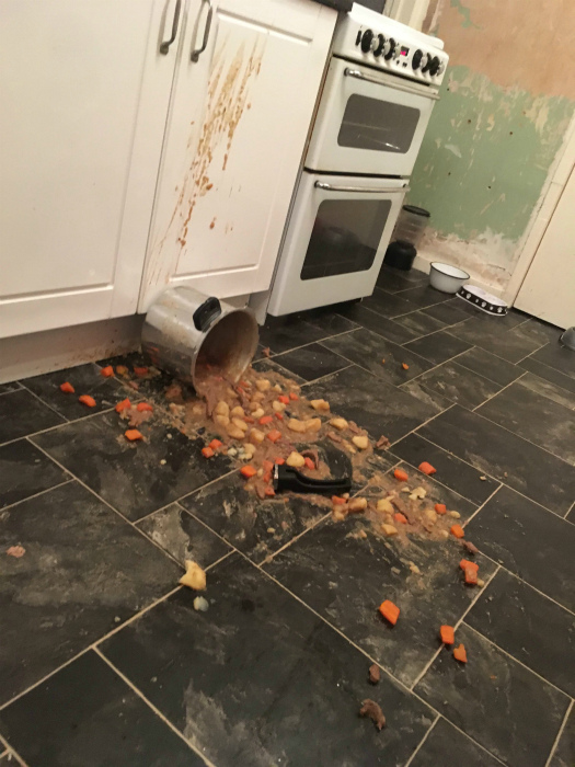 Кулинар-неудачник.