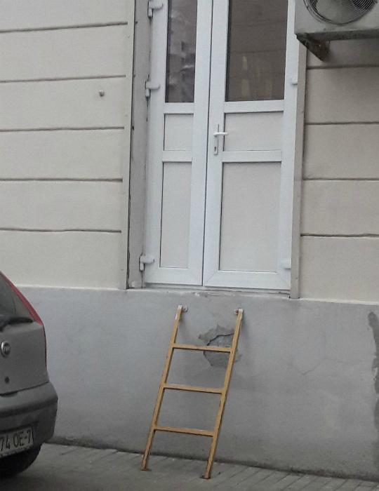 А вот и подходящая лесенка нашлась! | Фото: News.21.by» — новости Беларуси.