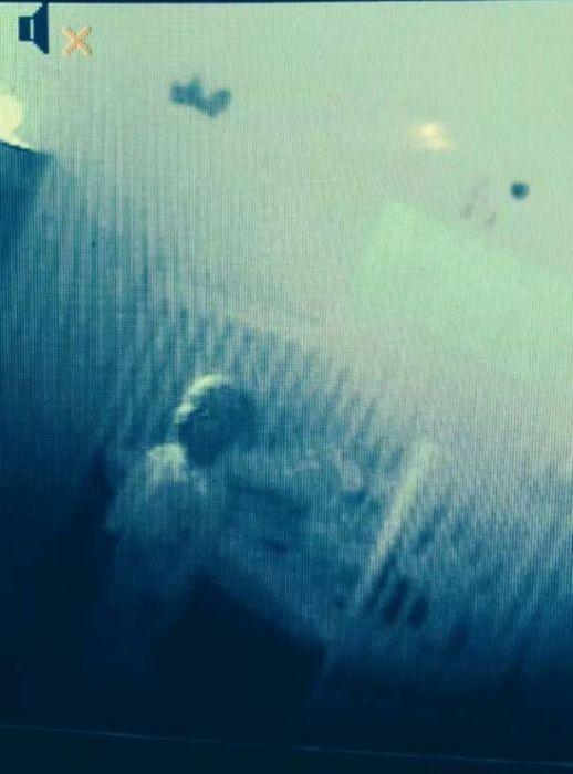 Снимок с камеры наблюдения в детской комнате.