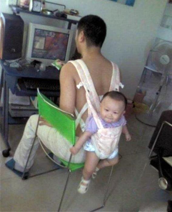 Изобретательный отец.