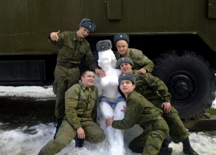 Снежная королева. | Фото: bokete.