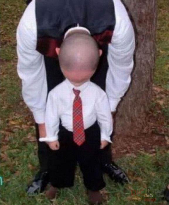 Когда ребенок и папа - единое целое.