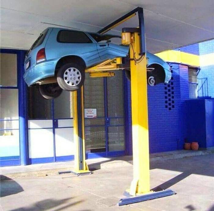 Нет машины - нет проблем! | Фото: Ribalych.ru.