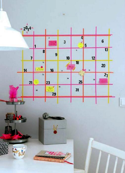 Оригинальный календарь.