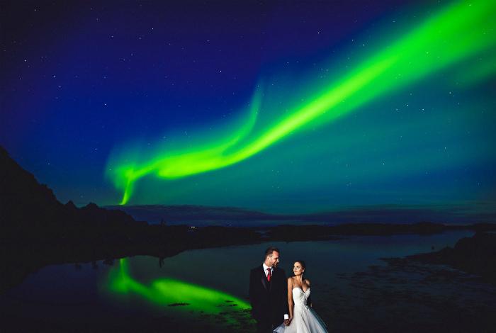 Свадебное сияние. | Фото: Blikkfangerne.