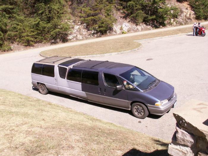 Новая модель лимузина.