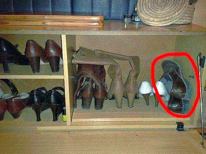 Обувной шкаф.