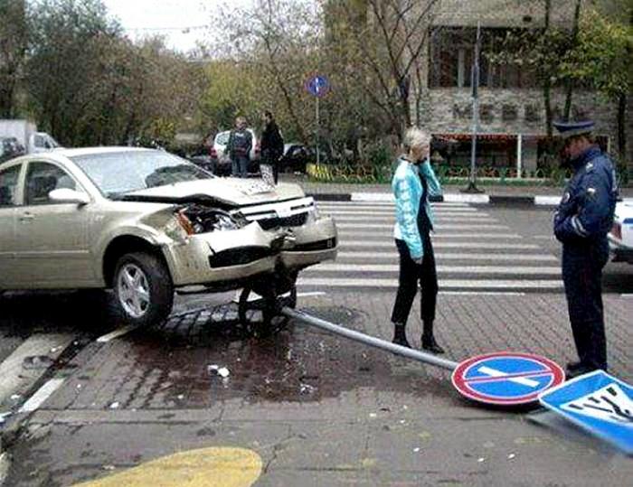 «Способная» автоледи.