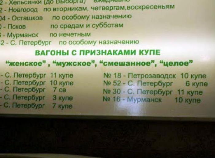 Признаков комфорта в купе не обнаружено! | Фото: Fakt.