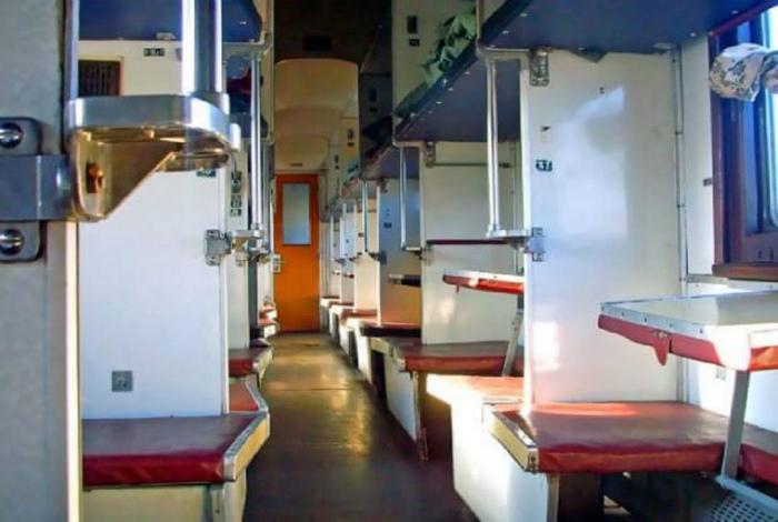 Распределение мест в вагоне.