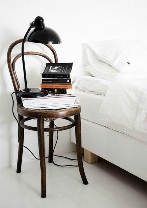 Спальня в стиле минимализм.