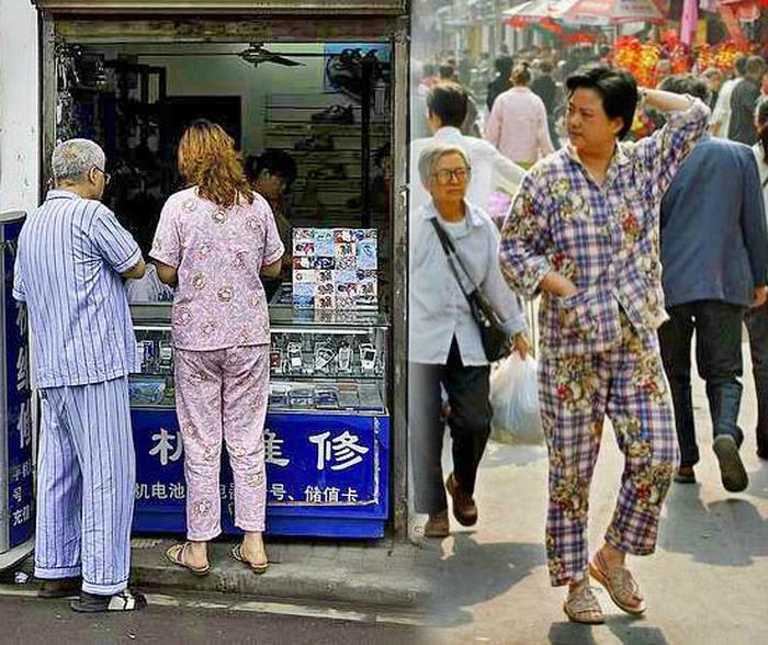 Уличная мода в Китае. | Фото: ФУЗА.РУ.