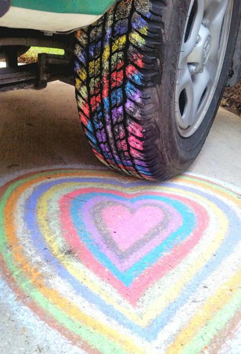 Красочная шина.